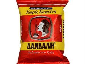 Καφές Δανδάλη Ελληνικός χωρίς Καφεΐνη 500gr 500gr