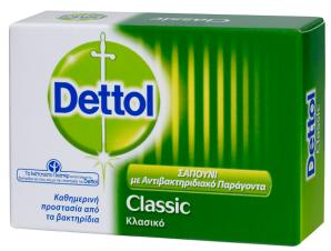 Αντιβακτηριδιακό Σαπούνι Κλασικό Dettol (4x100g) 3+1 Δώρο