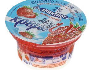 Επιδόρπιο Κρεμοζελέ Φράουλα 180 gr