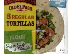 Πίτες Tortillas Μαλακές 326g