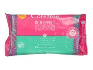 Μαντηλάκια Ευαίσθητης Περιοχής Duo Effect 20 Τεμάχια