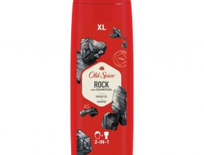 Shower Gel & Shampoo Rock With Charchoal 400 ml